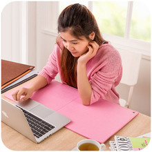 Korean style Stationery Soft blankets large size Desktop mouse pad Desk mat paper storage pad Keyboard Pad Office essential-lq(China (Mainland))