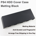 Universal HDD hard Disc Drive cover Case for Playstation 4 PS4 CUH-1000 to 1200 With Silver logo – Matt Black (OEM A)
