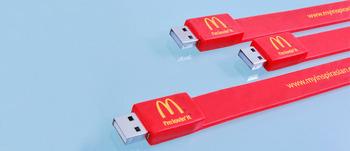 Wholesale 1GB 2GB 4GB 8GB 16GB 32GB Custom logo Flash Bands Flash Drive