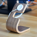 Newest Charging Dock Bamboo Wood Stand for Apple Watch For iPhone For Tablet Phone Stand Holder Charging Dock