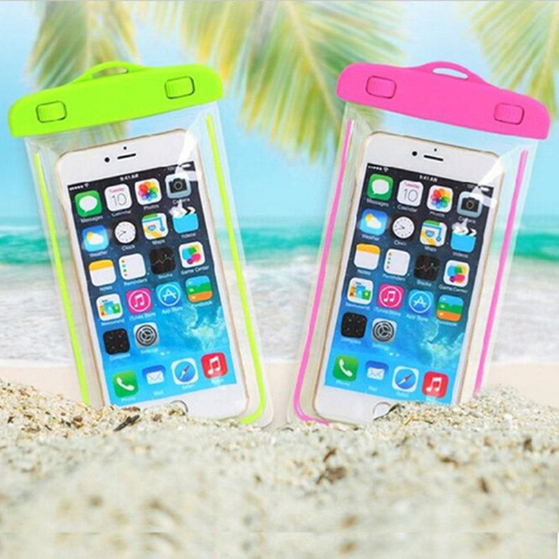 100% Sealed Waterproof Durable Water Proof Bag Underwater Back Cover Case For Apple Iphone 3 4 5 5c 6 6 Plus SE Diving Bags(China (Mainland))