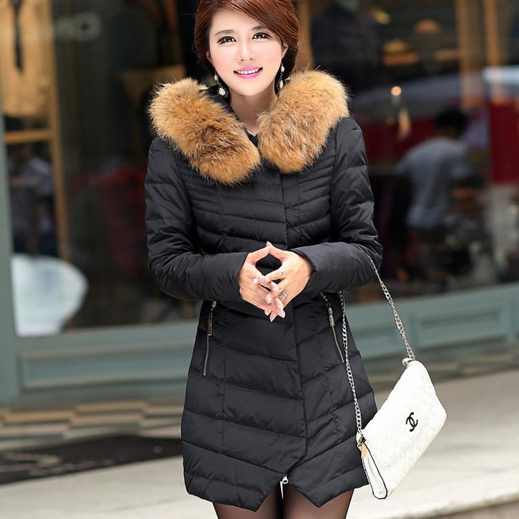 2015 Female Winter White Eiderdown Jacket Slim Down Jacket Casaco Feminino Winter Jacket Coat Women(China (Mainland))