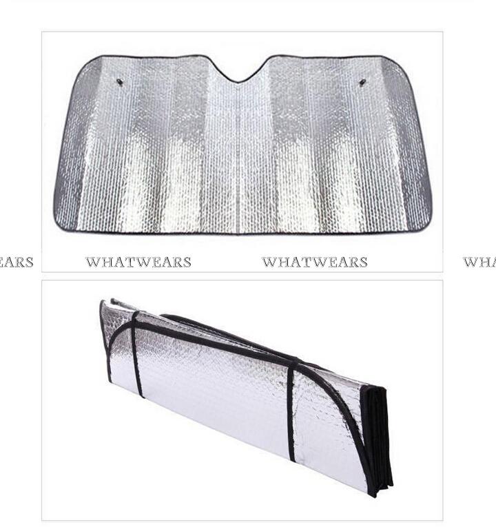 Защита от солнца для переднего стекла авто WHATWEARS защита от солнца для переднего стекла авто new 2015 130x60cm
