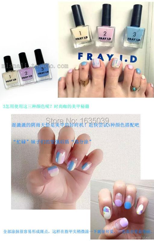 New hot Sale Fashion Jp Environmental Colorful Gel Nail Polish Nail Polish Magnetic ,Quick Dry candy Nail Art Polish10ml(China (Mainland))
