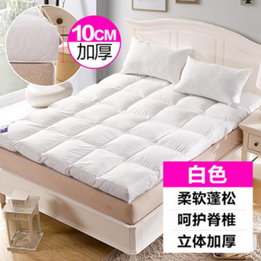 Mattress used for five star hotel Thickness 10cm Feather velvet thickened tatami mats Folding anti slip warm mattress(China (Mainland))