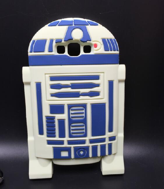 Samsung Galaxy A7 E7 J7 Case 3D Soft Silicon Cover Star Wars R2D2 A700 E700 J700  -  ALEX ZHOU Store store