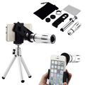 12XOptical Magnifier Telephoto Camera Photo Lens MINI Tripod For Sony Xperia Z2 z3 Min Z XP