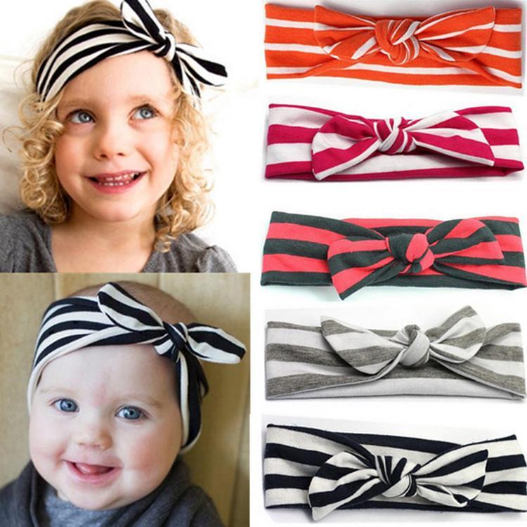 Fashion Hair Accessories Baby Rabbit Ear Shaped DIY Headbands Various Styles Girls Headwear 7 Colors BB-226(China (Mainland))