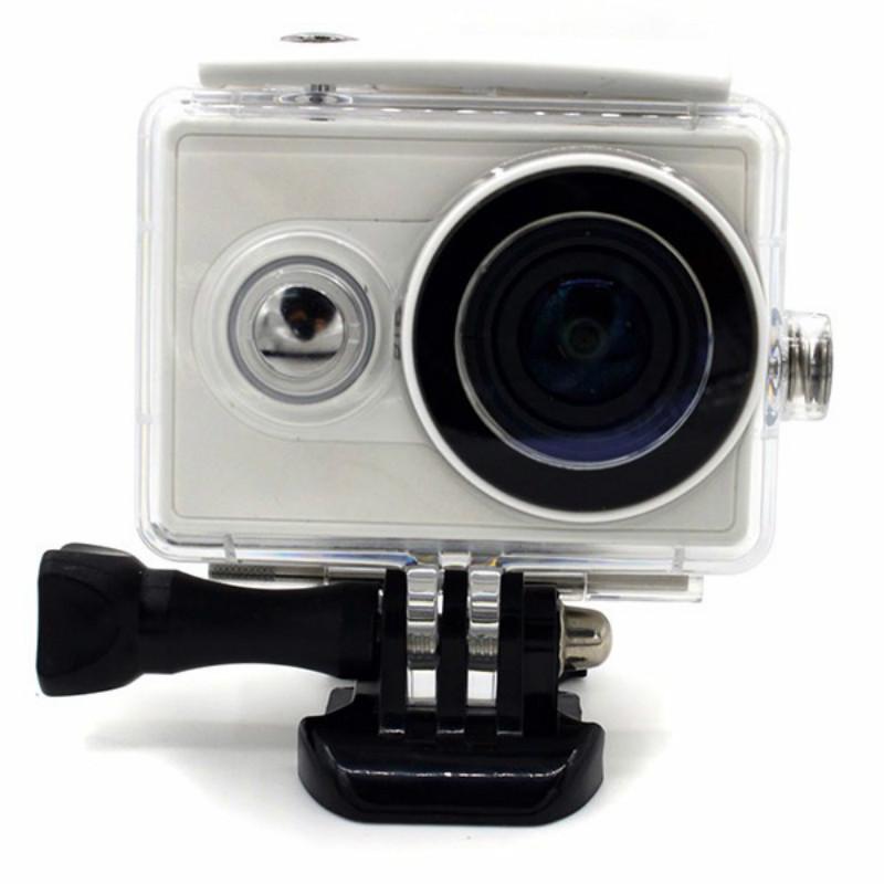 40M Waterproof Xiaomi Yi Action Sport Cameras Cam Case Bag Housing Dustproof Cover Camera Accessories Mi Yi Diving Box Shell(China (Mainland))