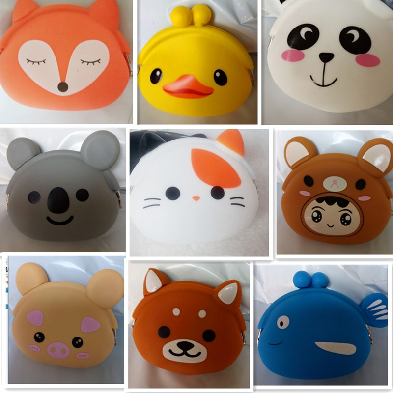 New Trendy Baby Fullmoon Gift Pack : New fashion cat style silicone coin purse kids gift