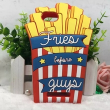 Buy Fashion Fries Guys Case Cover Wiko Lenny 3 Jerry Silicone hamburger french fries pattern Cases Wiko Lenny 2 for $3.99 in AliExpress store