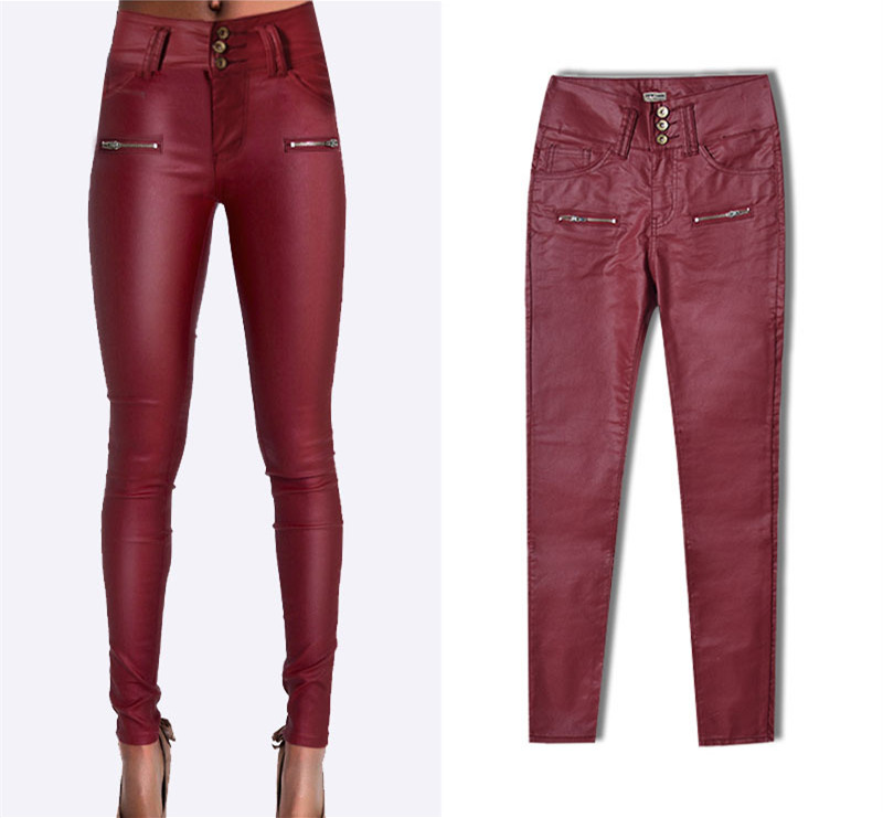 Online Get Cheap Plus Size Leather Jeans -Aliexpress.com | Alibaba ...