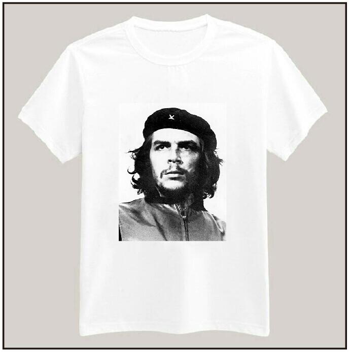 CHE GUEVARA Print Women Tshirt Cotton Casual Shirt For Lady White Top Tees Big Size S-XXXL Drop Ship TZ203-17(China (Mainland))