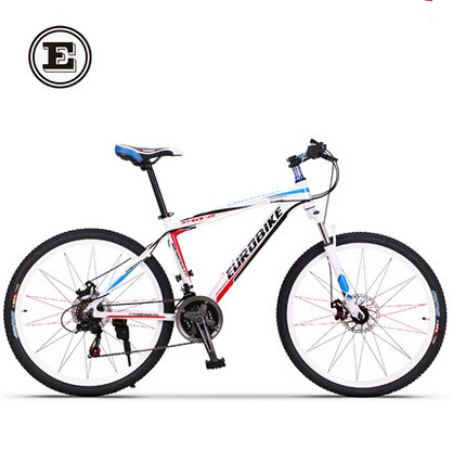 26 inch fashion wheel 17inch frame complete mountain bike aluminum alloy frame  21 speed bike  <br><br>Aliexpress