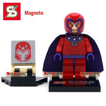 Magneto minifigure Single sale Shen yuan SY259-1 Marvel X-man Classic figures Best Collection Children Gift toys(China (Mainland))