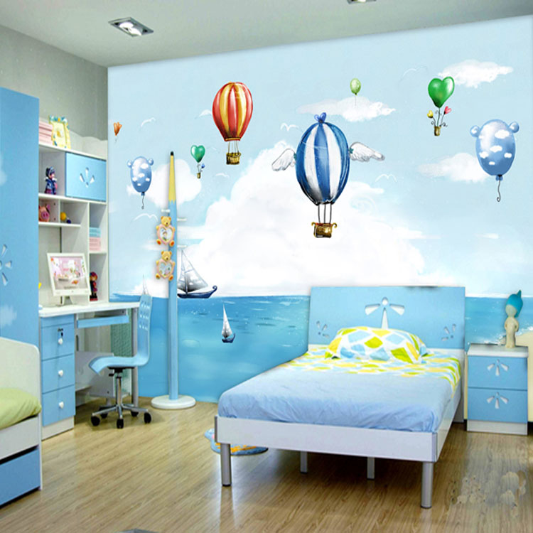 Large dining room children 39 s room bedroom mural backdrop Wallpaper for childrens room