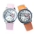Promotion NEW HOT Sale Fashion Cute Cartoon Hello Kitty Watches Children Girls Woman Quartz Wrist Watch