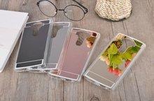 Fashion Rose gold Luxury Mirror Soft Clear TPU Case LG G3 G4 G5 Acrylic Back V10 Cover phone bag - Zhutou Technology Co.,Ltd store
