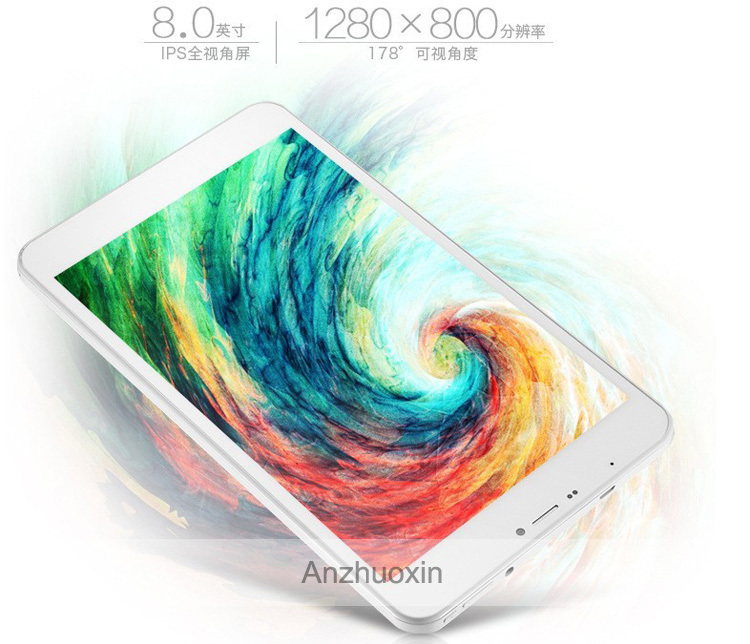 Best Quality Cube 1280 800 IPS Talk8H 3G Quad Core Android 4 4 4500mah 1 3GHz