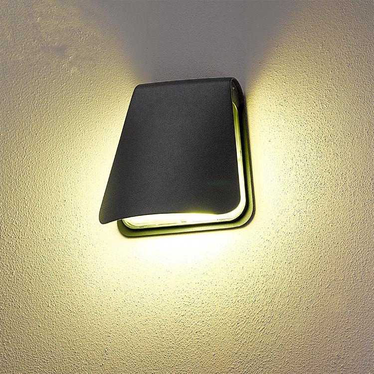 Modern Wall Lamps Europe : Waterproof aluminum outdoor led wall lamp modern European creative outdoor balcony door corridor ...