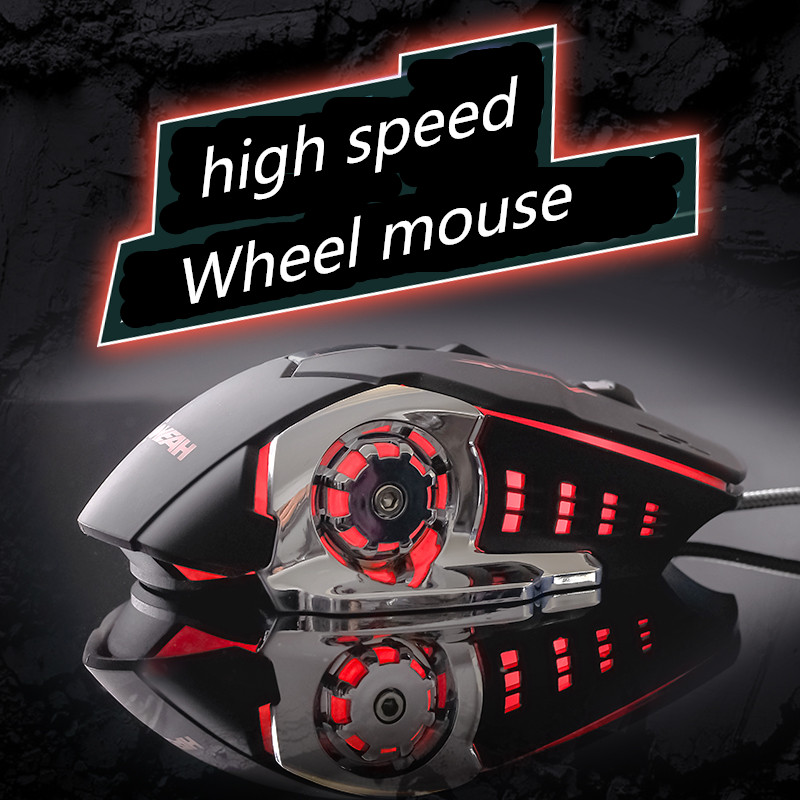 Usb Wired Gaming Mouse Computer Gamer Ergonomic Optical Mouse 6 Button LOLFps Emperorship LOL CF Dota Mouse Mice 3200DPI(China (Mainland))