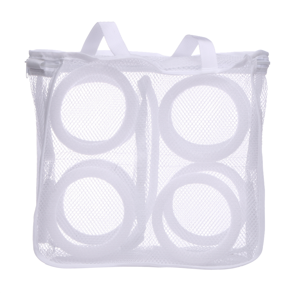 Details about  /Vivifying Shoes Wash Bags Set of 3 Mesh Shoes Laundry Bag with Zip Closure fo...