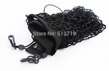 Car Rear Luggage Cargo Net Trunk Vehicle Elastic Mesh Storage Holder 4 Hook Black for Eescape KUGA 2013 1pc(China (Mainland))