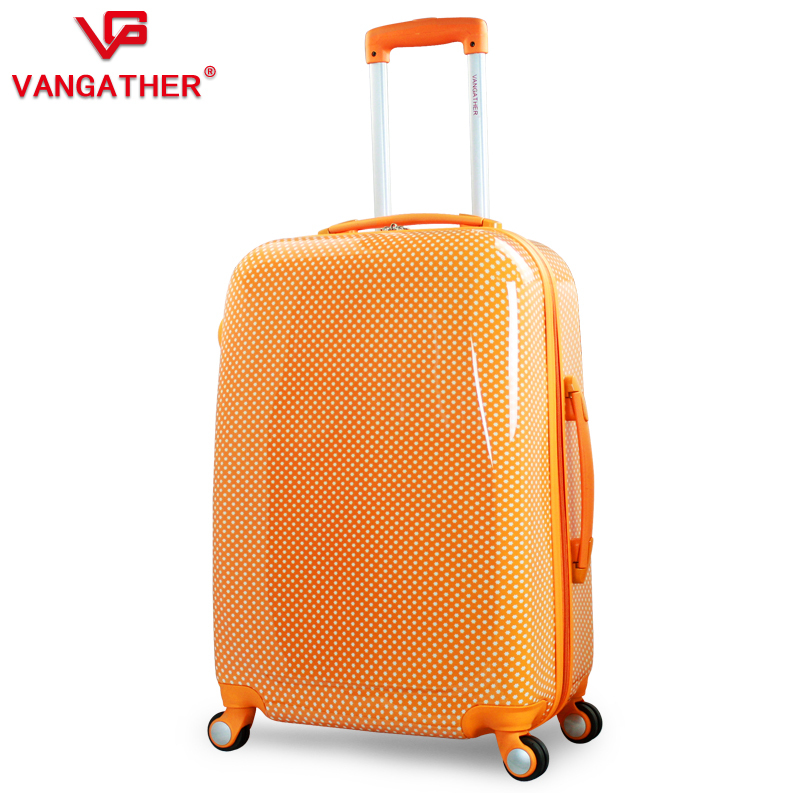 New! VANGATHER ABS 24 inch travel bag rolling luggage suitcase draw bar box traveling case trolley - LUGGAGE CASE HANGZHOU store