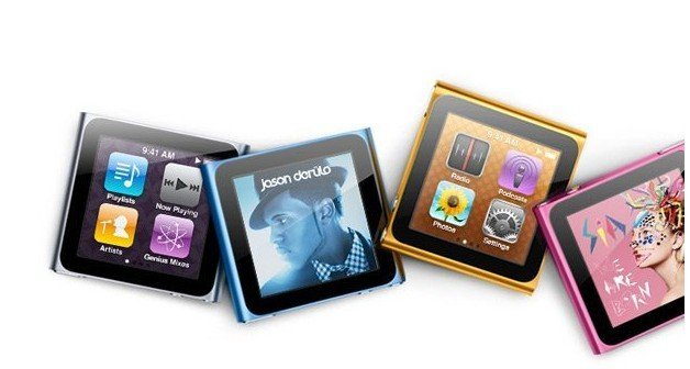 Dropship Free shipping 8GB 6th generation digital MP3 Player MP4 player FM 1.8 inch touch screen