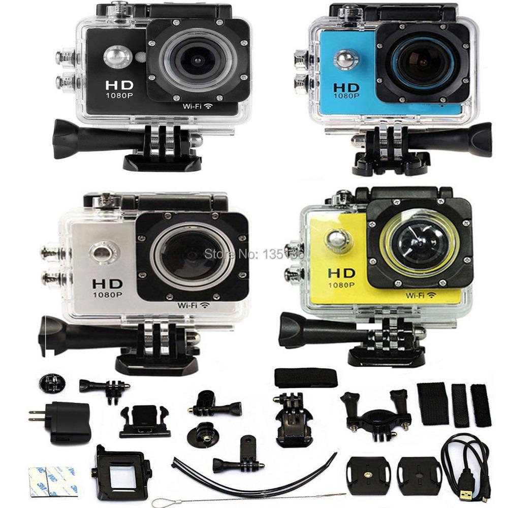 SJ6000-w9 2.0  LCD WIFI 1080P HD Sports Action DVR Video Waterproof Camera DV Diving 30M Underwater <br><br>Aliexpress