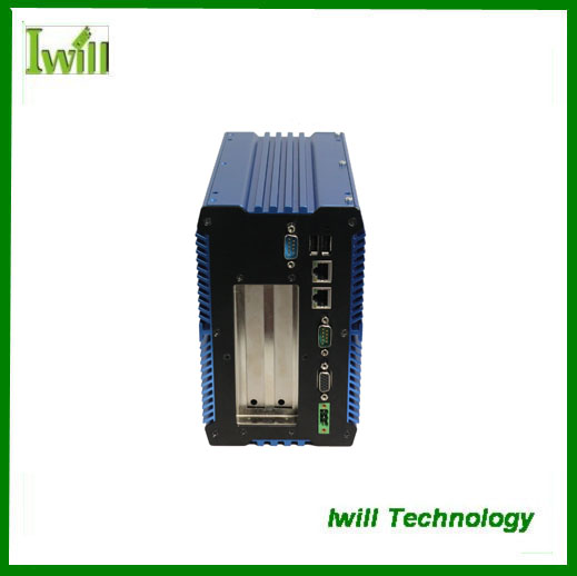 Mini fanless computer IBOX-701 with PCI-E expansion industrial embeded pc(China (Mainland))