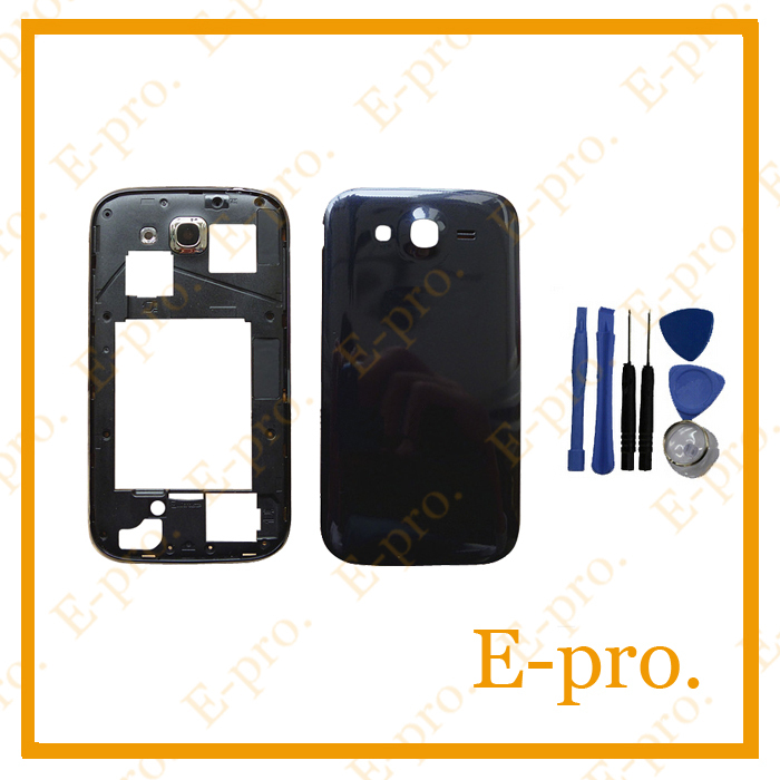 New Full Housing For Samsung Galaxy Grand Duos i9082 Middle Frame +Battery Door Back Cover +Tools Free Tracking No.