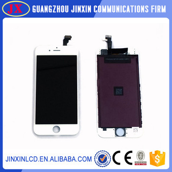 100% Original 4.7 inch For iPhone 6 LCD Screen Display With Touch Screen Digitizer Assembly Black/White Free Shipping