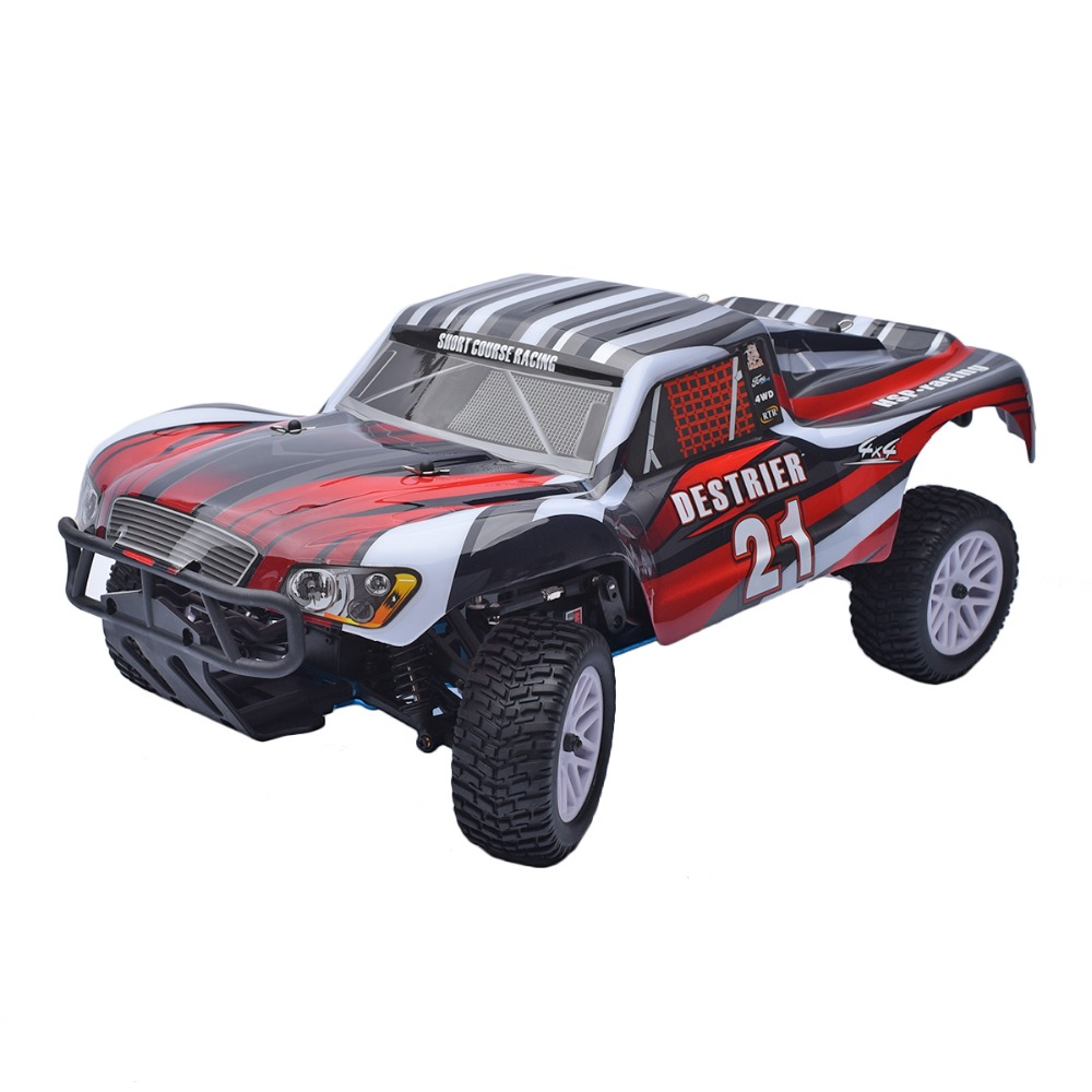 HSP 1/10 Scale 2.4GHz RTR 18cxp Nitro / Gas 4WD Radio Remote Control RC Short Course Truck 94155(China (Mainland))
