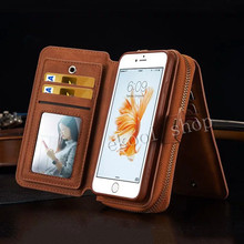 Details about New Multifunction Leather Wallet Case Cover Mobile Phone Case Protective Bumper For Apple iphone 6 6 Plus