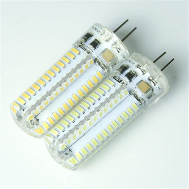 SMD 3014 G4 2W 3W 5W 7W LED Crystal Lamp Light 24LED 32LED 64LED 104LED DC 12V / AC 220V Silicone LED Bulb Chandelier(China (Mainland))