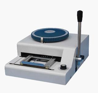 PVC Card Embosser Machines(China (Mainland))