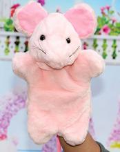 Hand Puppets Plush Puppets Elephant Cow Cat Mouse Monkey Plush Doll Children Educational Toys Brinquedo Marionetes Fantoche(China (Mainland))