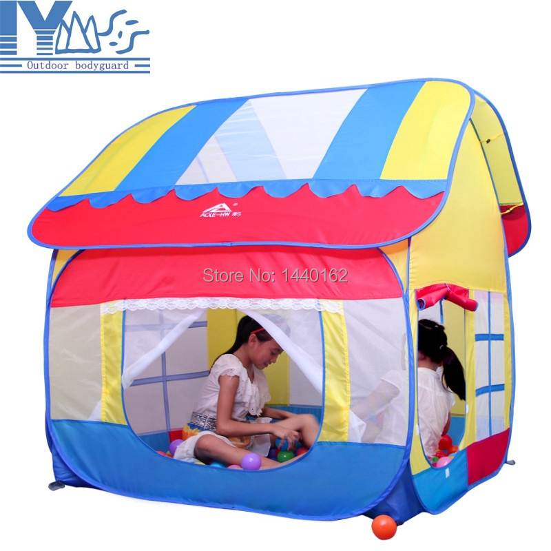 Child Tent Game House Portable Outdoor Play House for Children Ocean Ball Tent for Kids Baby Toys Brinquedo<br><br>Aliexpress