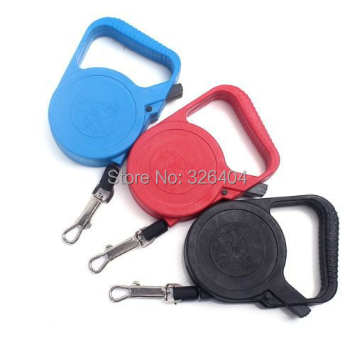 3m Flexible Retractable Extending Dog Pet Cat Automatic Lead Leashes Safe Cord(China (Mainland))