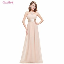 Long Evening Dresses Ever Pretty HE09955 Strapless Ruched Bust Black Chiffon 2016 New Arrival Evening Dresses(China (Mainland))
