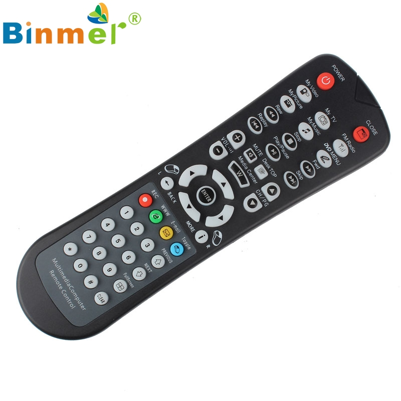 Beautiful Gift New USB Wireless Media Desktop PC Remote Control Controller For XP Vista 7 Wholesale price Jun21(China (Mainland))
