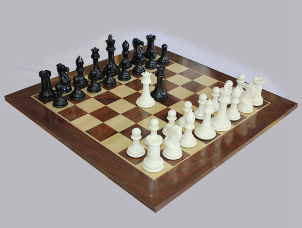 Value-for-money planet Assembly leather & wood chessboard chess oversized sets board game Chess King Kao checkers - K8356 Entertainment Outdoor Co.,Ltd Store store