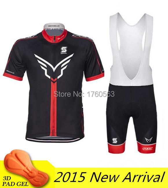Arrival 2015 felt cycling jersey bicicletas short sleeve clothing men