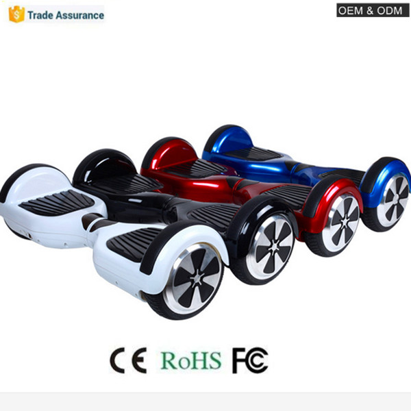 NEW 2 Wheel Auto Balancing Electric Scooter 6.5 inch Hoover Board(China (Mainland))