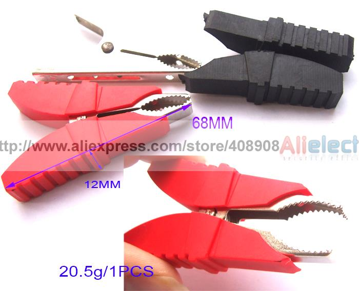 20pcs Insulation Alligator Clip for Car Battery Clip Power Test Probes Cable DIY<br><br>Aliexpress