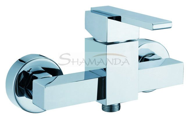 Free Shipping Promotions Shower Faucet In-Wall Bathroom Luxury Mixing Tap Chrome High-grade 1106 [5 years warranty]