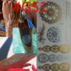 Body Art Chain Gold Tattoo Temporary Tattoo Tatoo Flash