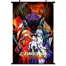 Neon genesis evangelion sexy anime girl silk poster 11.5×20 22.5x36inch picture for Room Decor 013
