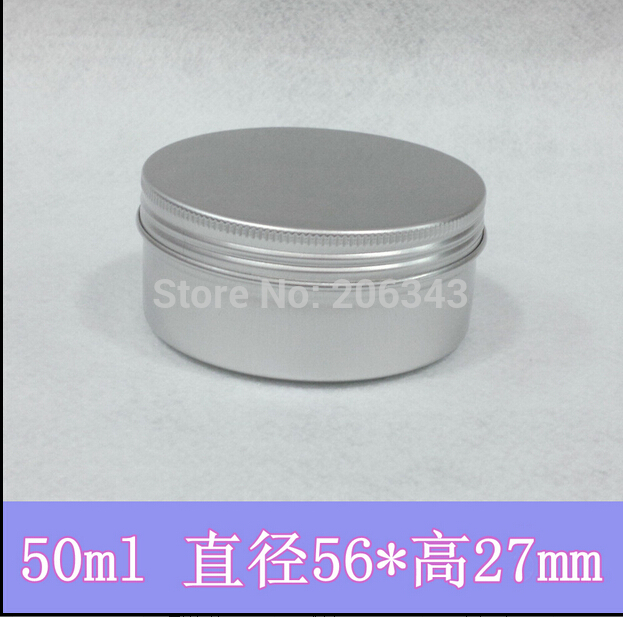 50g aluminum cream bottle,cosmetic container,eyeshadow container,power container,cream jar,Cosmetic Jar,Cosmetic Packaging<br><br>Aliexpress